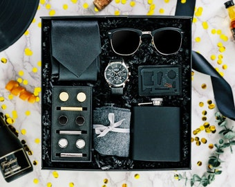 James Bond Spectre Gold-tone Cufflinks Money Clip Engraved Gift Set
