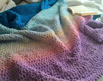 Crochet Blanket For Sale Etsy
