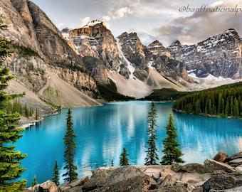 Moraine Lake Photography Print