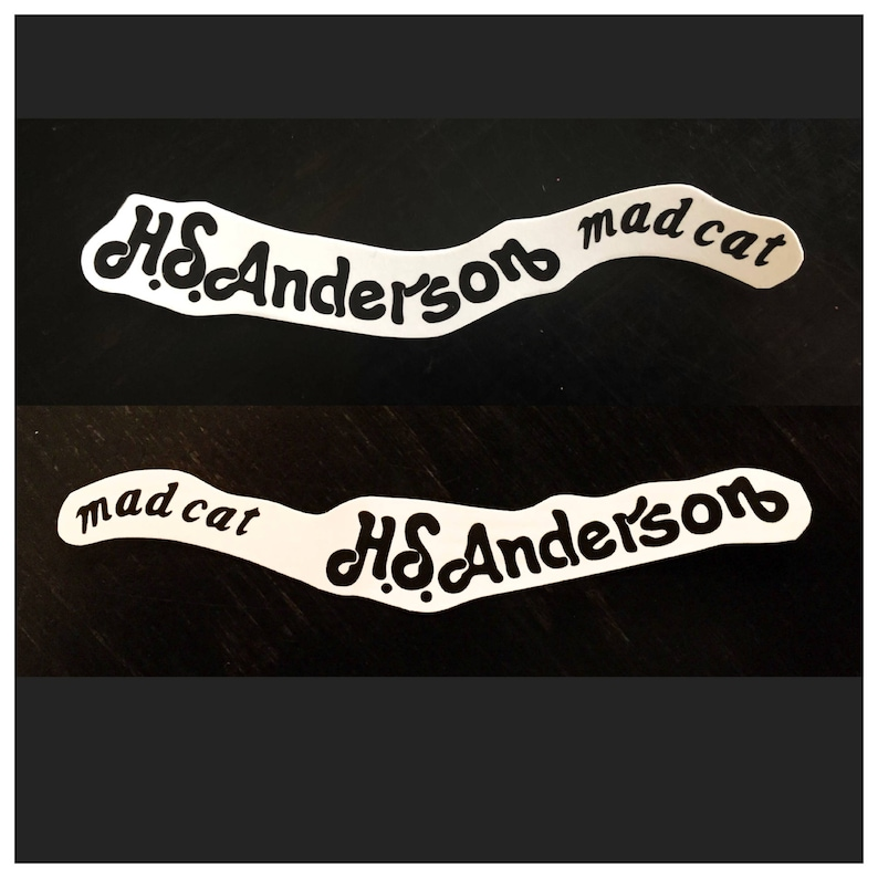 Hohner As Anderson Gatto Matto Paletta Waterslide Decal Logo Etsy
