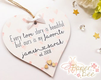 Personalised Work Friend Colleague Heart Plaque Leaving Etsy