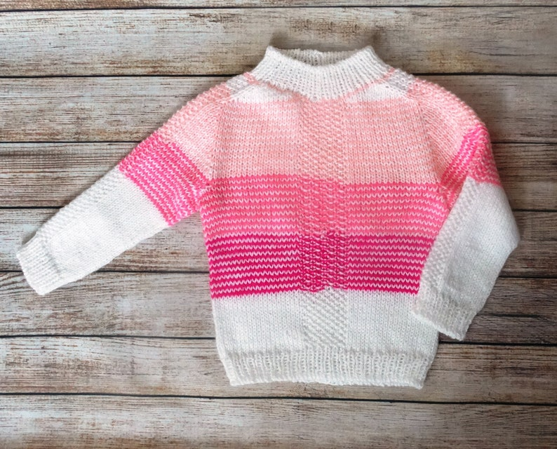 bc0b7d2c11c4 Child knitted stripes sweater Cute baby clothes 2-3 years baby