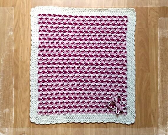 Häkeln Babydecke Baby-Mädchen-Decke häkeln Schmetterling | Etsy