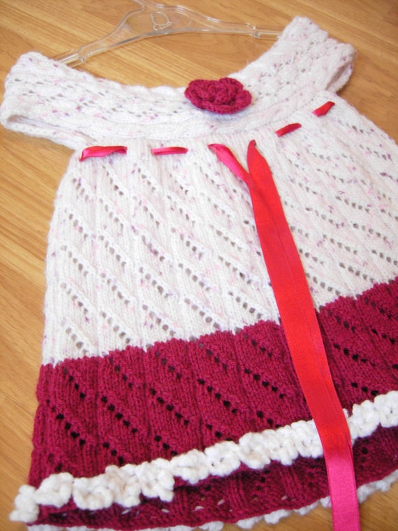 Crochet Mädchenkleid Häkeln Babykleid Häkeln Baby Mädchen Etsy
