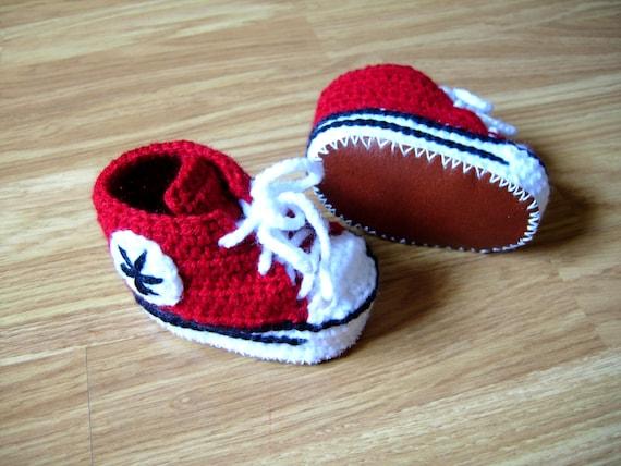 138baedb241 crochet baby converse crochet baby shoes crochet baby