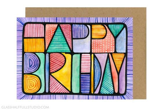 Happy Birthday Card For Friend Best Friend Birthday Bday Etsy