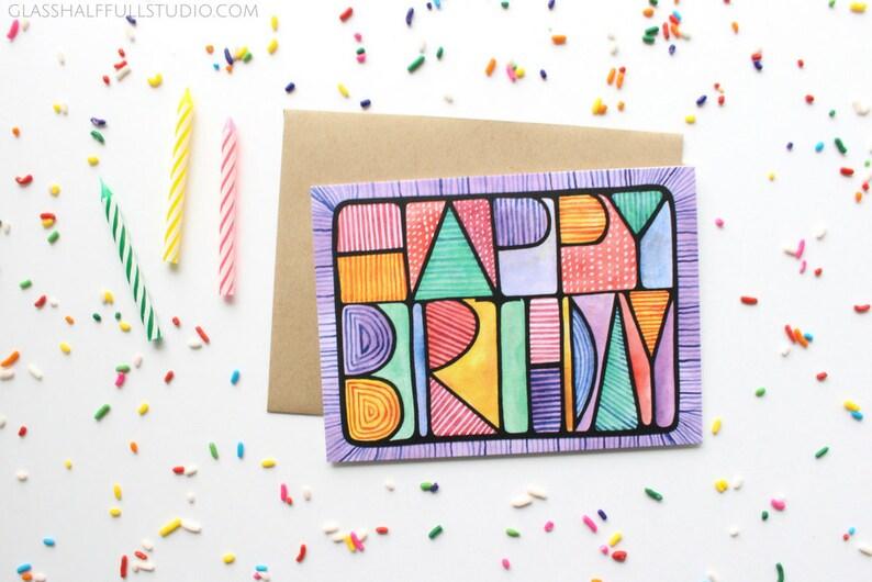 Happy Birthday Card For Friend Best Bday