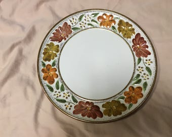 Celebrate Spring with this Stangl Floral Plate