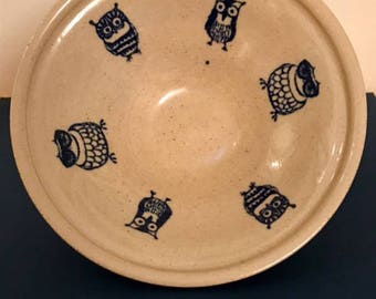 Owl Catchall Bowl