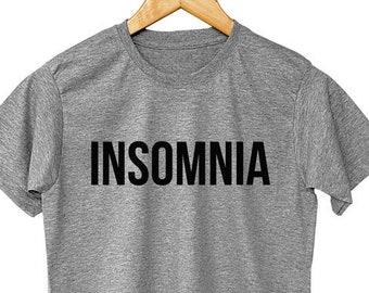 c8c9de6e2207c Insomnia shirt | Etsy