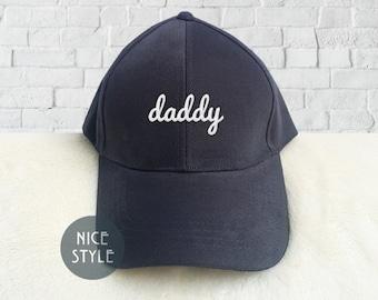 63535e9e972d1 daddy Dad Hat Embroidered Baseball Cap Low Profile Custom Strap Back Unisex  Adjustable Strap Baseball Hat