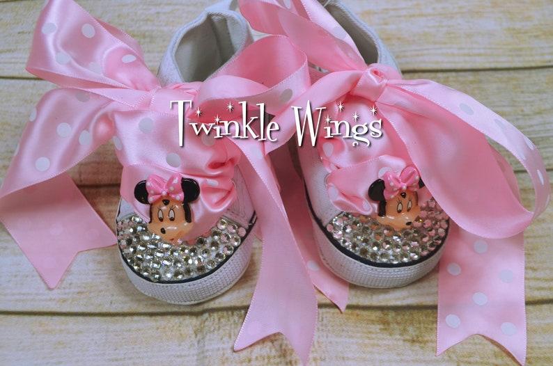 aed36998dbe0c Chaussures bébé Converse fille diamant strass Swarovski
