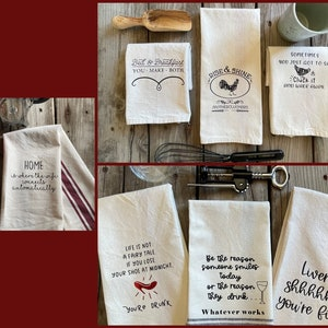 I Wish I Was The Person I Thought I Could Be When I Bought All This Produce Hilarious Dish Towel Gift Best Friend Funny Tea Towel