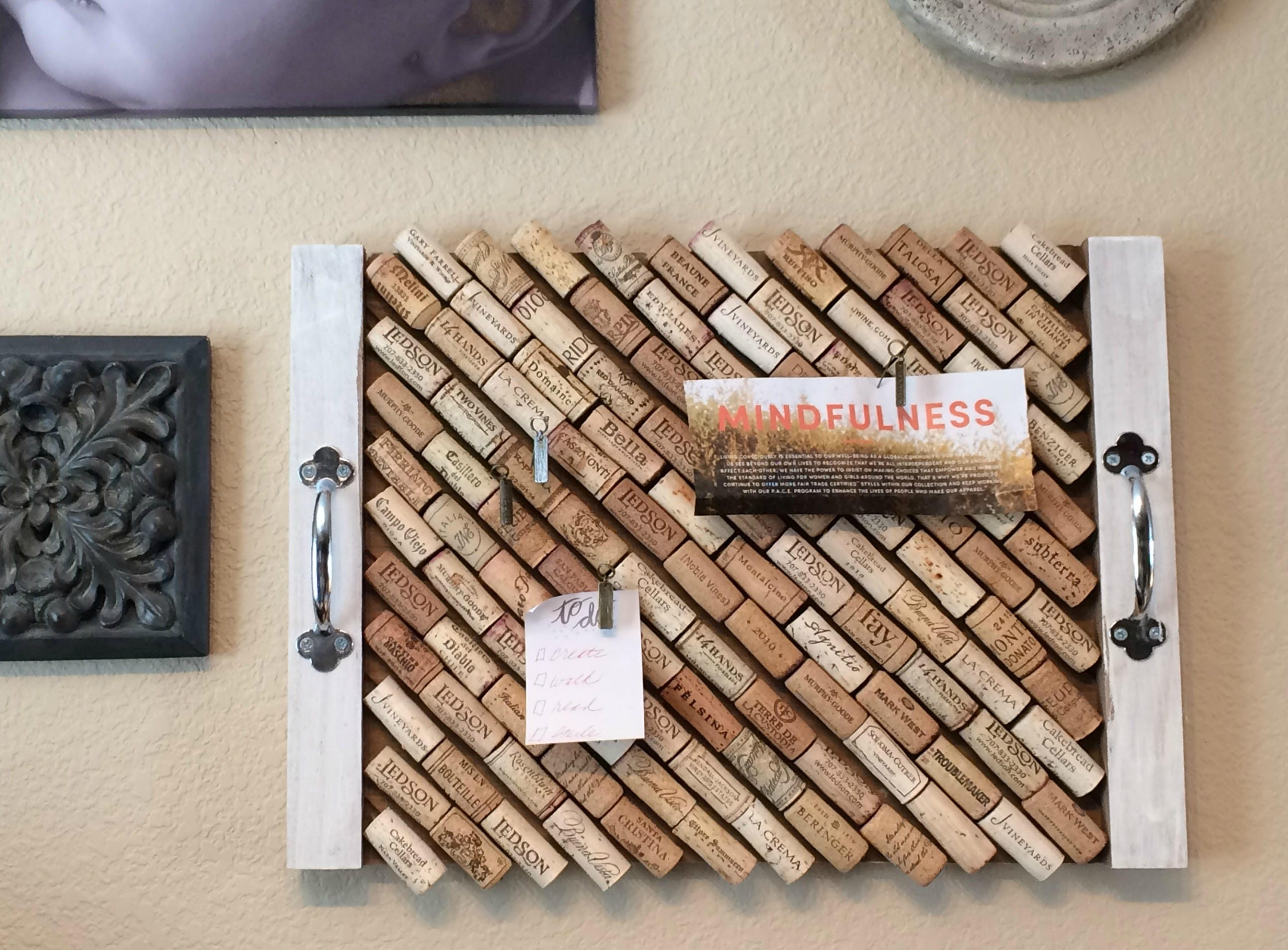 Inspiration Board With Wines Of The World Cork Etsy