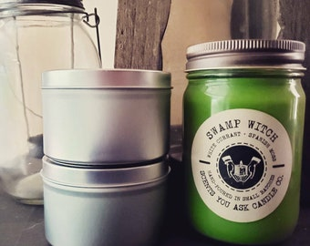 """Soy Candle """"Swamp Witch"""": white currant + spanish moss"""