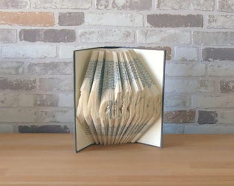 Your name-folded book//from 7 letters//Bookfolding//Book art//Name day//book type//gift//reading Rats