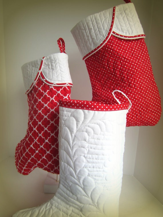 image 0 - Quilted Christmas Stockings