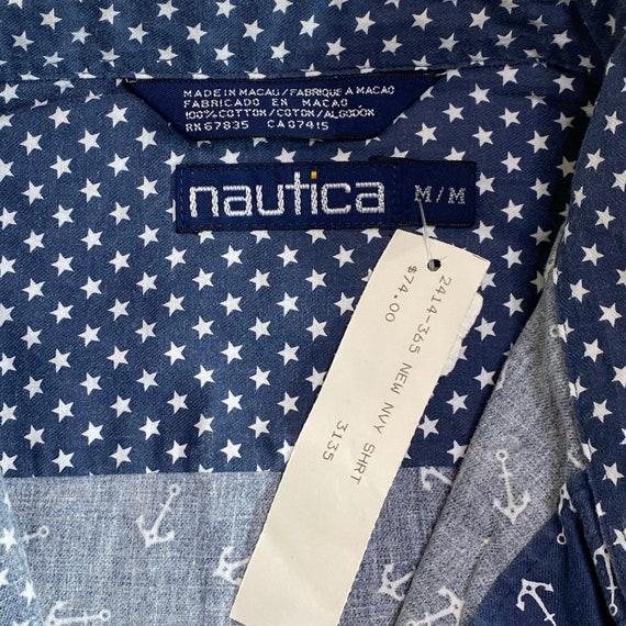 NWT Vintage Nautica Button Down Shirt - image 4