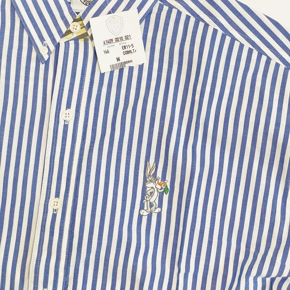 NWT Vintage Classic Looney Tunes Striped Shirt Wa… - image 2
