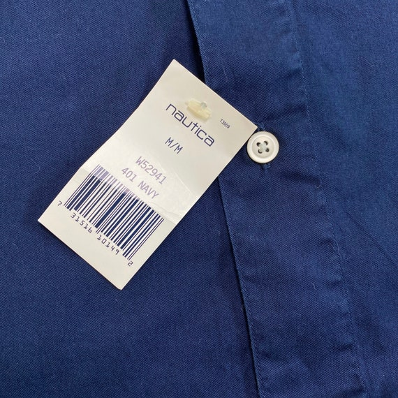 NWT Vintage Nautica Golf Button Down Shirt - image 3