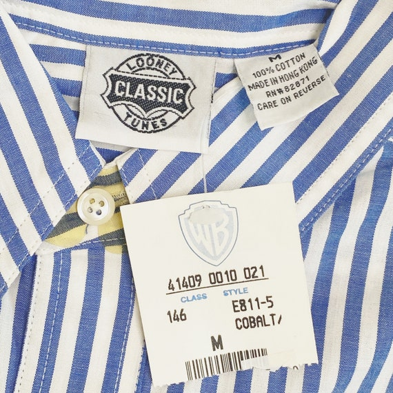 NWT Vintage Classic Looney Tunes Striped Shirt Wa… - image 4