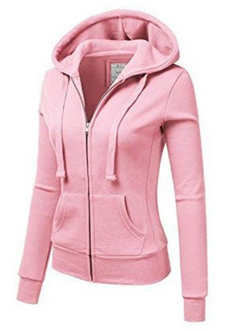 9f6a75e192718 Lightweight Thin Zip-Up Hoodie Jacket for Women with Plus Size