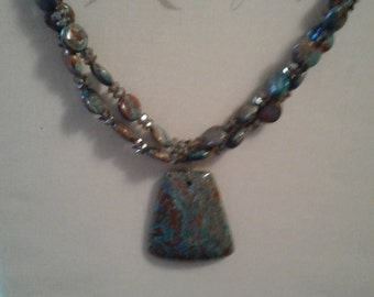 Beautiful Hand-Made Necklace PRICE LOWERED!