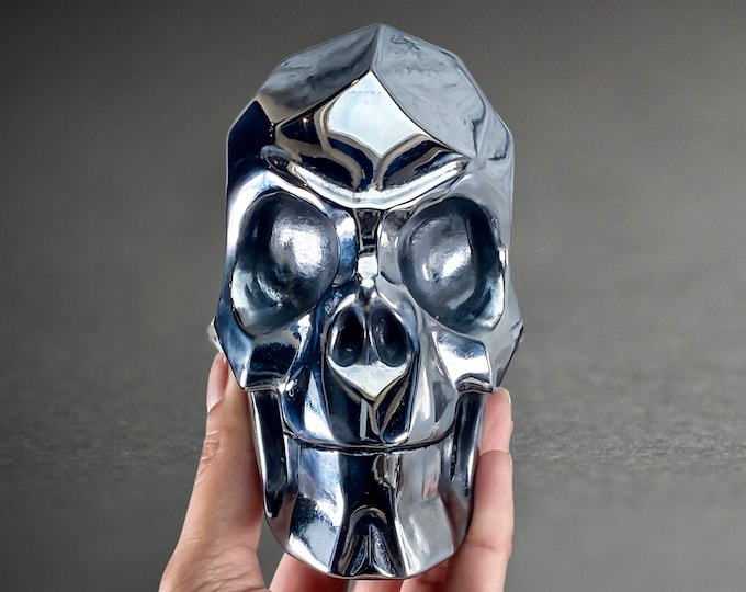 Featured listing image: Faceted Terahertz Skull