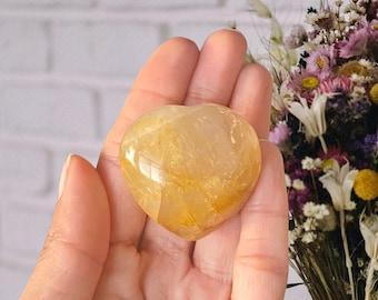 Golden Healer Puffy Heart