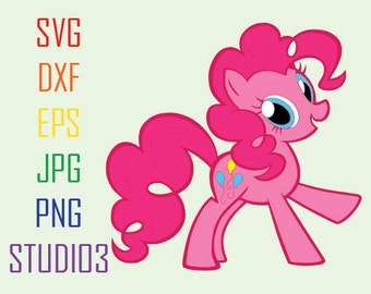My Little Pony Rainbow Dash Svg Files Svg Dxf Eps Studio