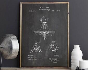 Retro Tripod, Antique Tripod, Camera Tripod, Camera Poster, Camera Art Poster,Camera Blueprint,Antique Camera Print,Patent, INSTANT DOWNLOAD