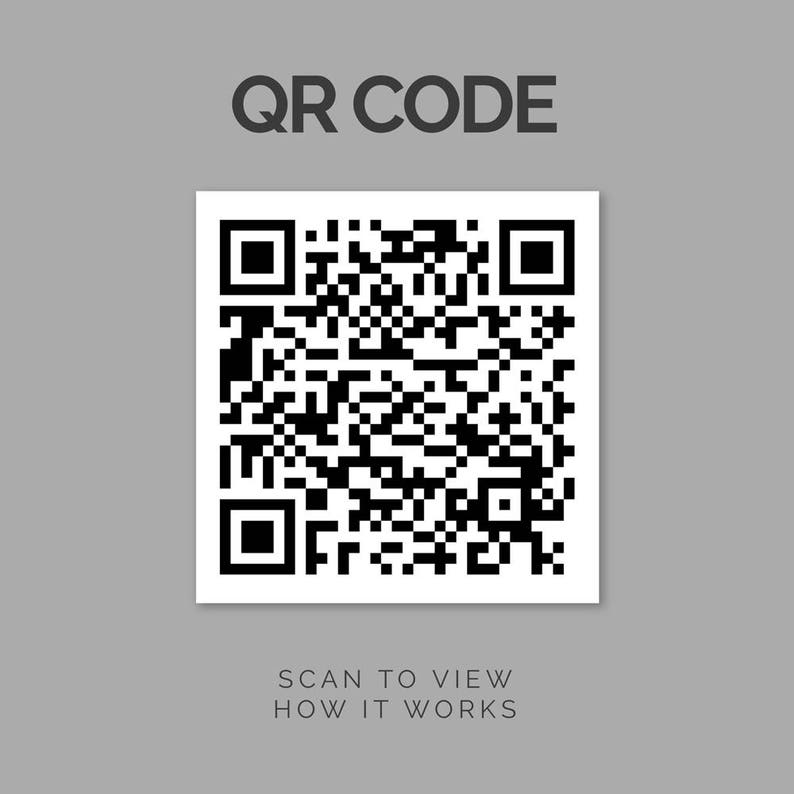 Qr Code Option For Custom Sound Wave Products Custom Sound Wave Sound Wave Print Voice Wave Print Sound Wave Art Personalized Wave