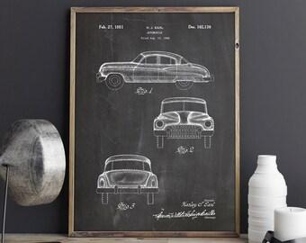 Vintage Car Print, Buick Super Poster, Buick Super, Buick, Vintage Car, Classic Car,Retro Car Print,Mechanic,Mechanic Gift, INSTANT DOWNLOAD