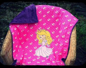"""blanket """"Inès Princess!"""""""