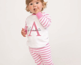 RJM Girls Childrens Kitty Pajamas Nightwear Gift