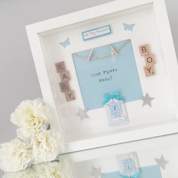 BABY / PREGNANCY / SCAN frames personalised handmade | Etsy