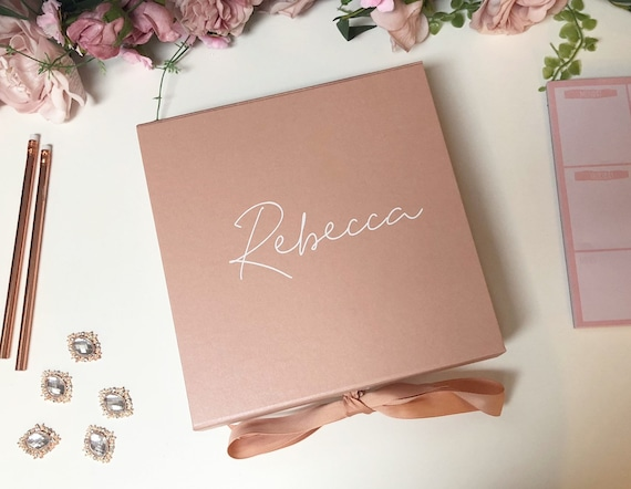 Blush Pink And Rose Gold Will You Be My Bridesmaid Pack Of 5 Cards