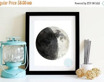 13% OFF SALE- PRINTABLE Art Moon Phases Moon Print Moon Poster Moon PhaseSMoon Wall Art Moon Poster Moon Phases Wall Art Moon Print Large Pr
