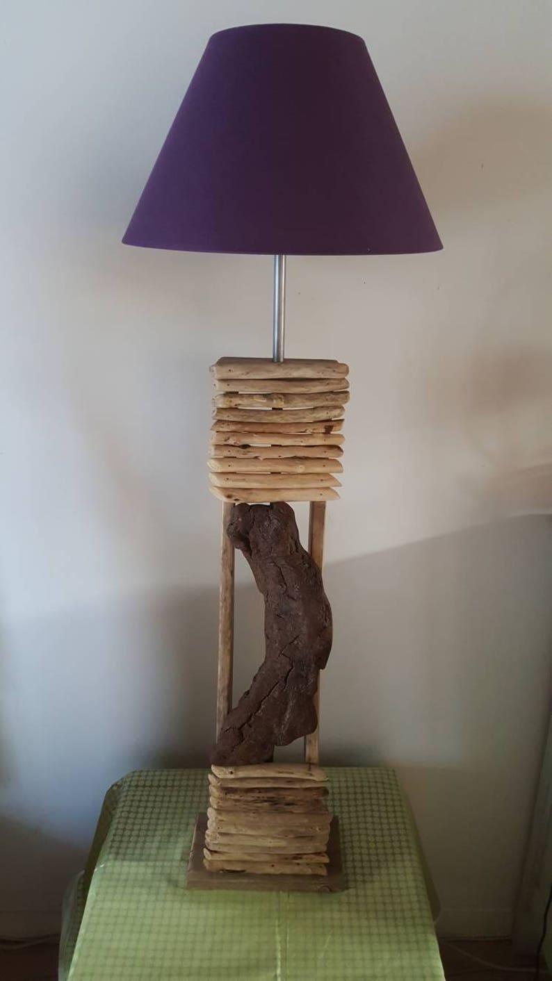 moderne Art A Bois Décor bois Déco lampe Flotté Lampe En Poser Flotté décorplage Home lampe éclairage Flotté Bois edxBorC
