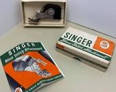 Vintage Singer Original Blind Stitch Attachment - fits Singer Featherweights 221 222