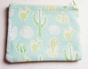 Cactus Makeup Bags