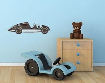 Vinyl sticker wall sticker childrens • auto •