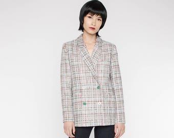 Mixed tweed jacket