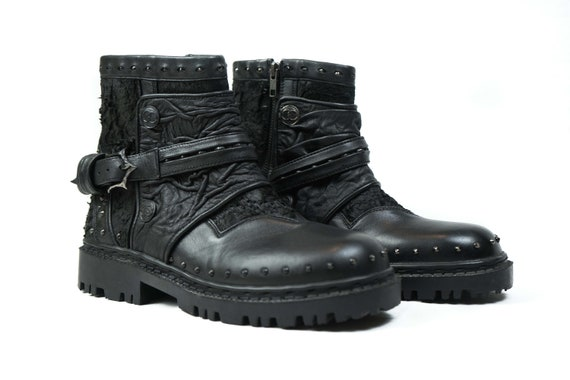 classic fit dirt cheap undefeated x Punk boots, men boots, alternative, clothing, spikes, studs shoes, custom  shoes, gothic boots, gift for him