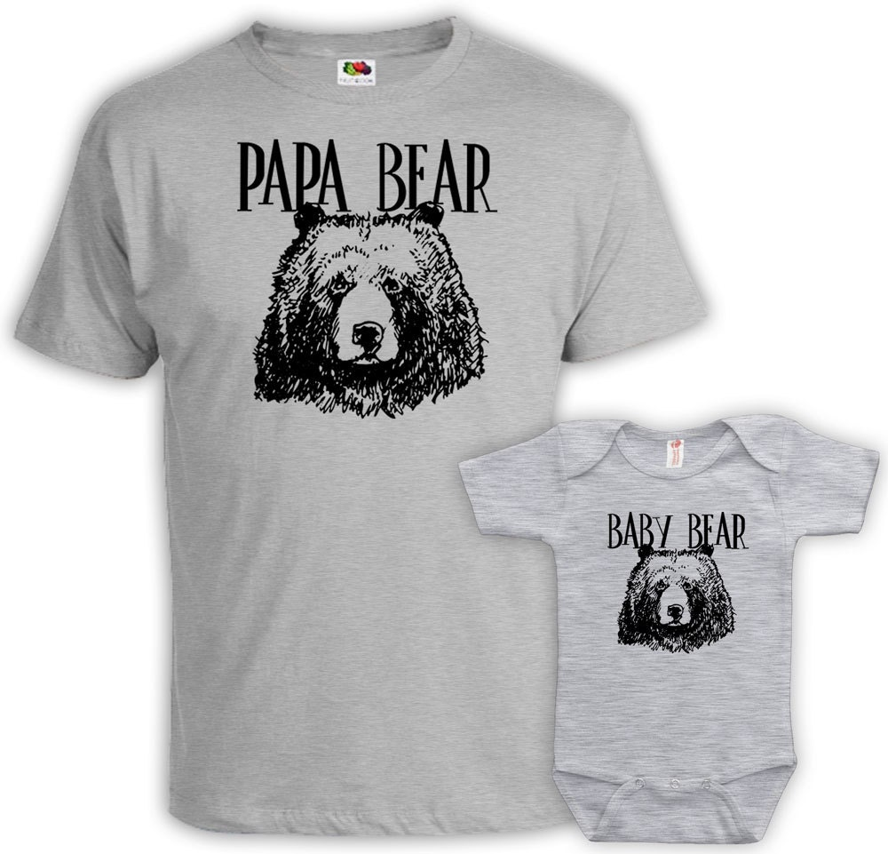 passende vater und baby vater sohn shirts papa und tochter. Black Bedroom Furniture Sets. Home Design Ideas