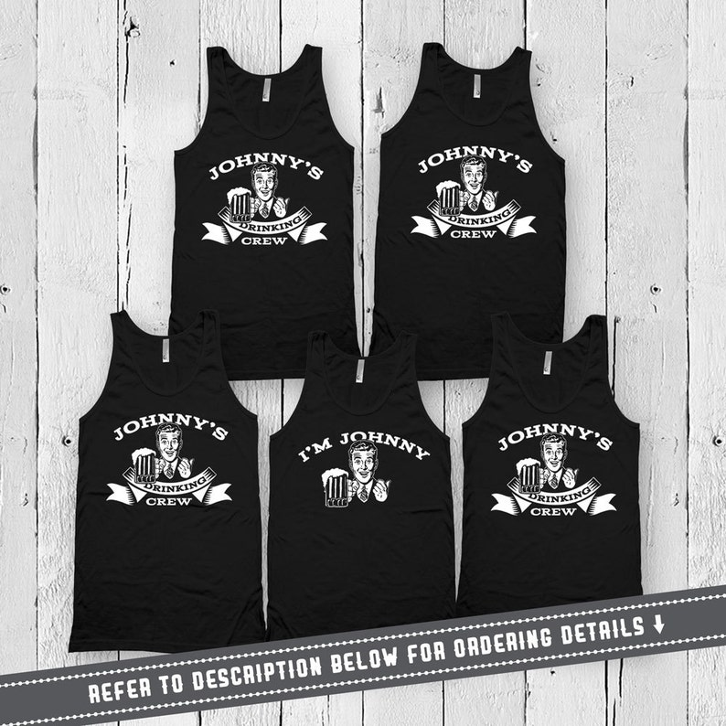436b84e056a54 Bachelor Party Tanks Groom And Groomsmen Shirts Drinking Gifts