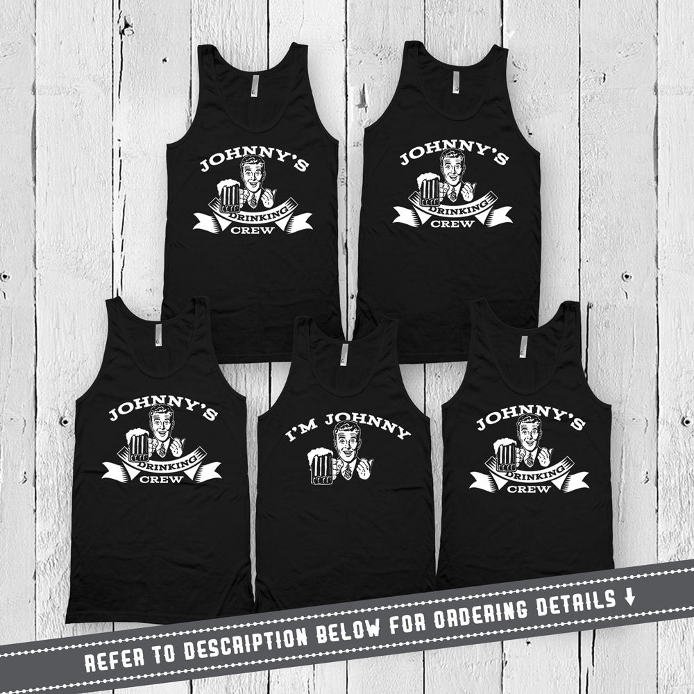 cf5f1a344a572 Bachelor Party Tanks Groom And Groomsmen Shirts Drinking Gifts