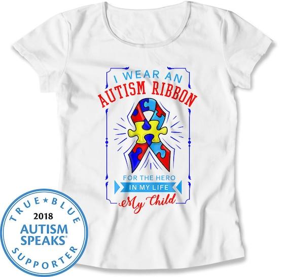 8720fe7cd Autism Awareness Shirt Autism Mom T Shirt Puzzle Piece Autism | Etsy