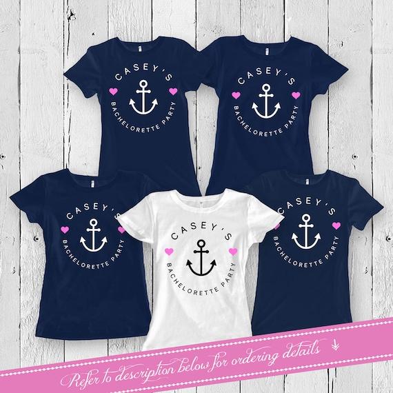 Junggesellenabschied T Shirts Braut und Brautjungfer Shirts   Etsy 39822b5a41