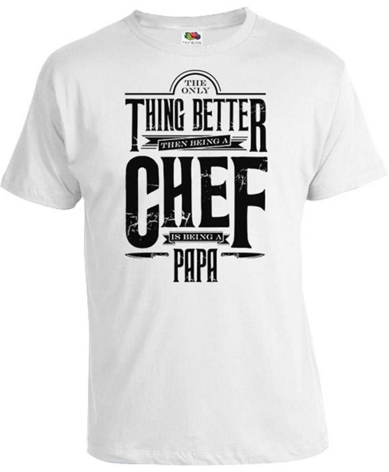 1aaba9ff4 Funny Papa Shirt Chef T Shirt Papa Gifts For Chefs Grandpa | Etsy